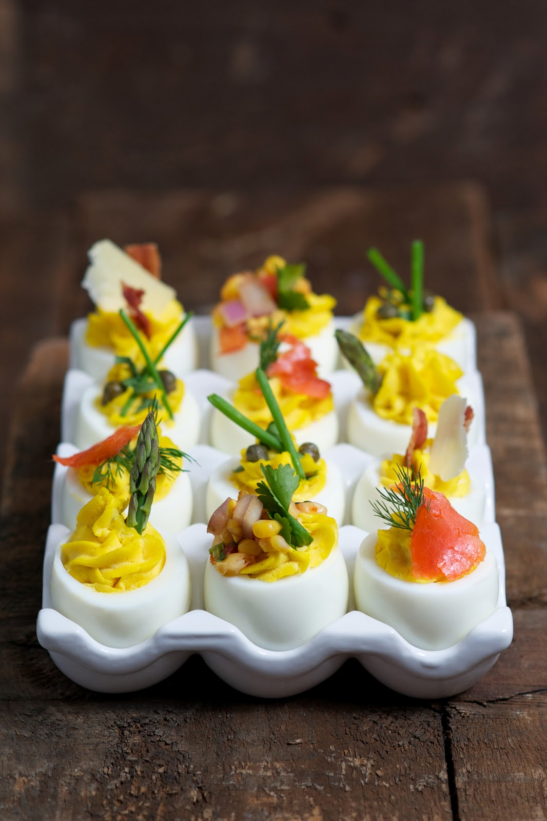 deviled eggs deviled eggs with lemon zest deviled eggs with green ...
